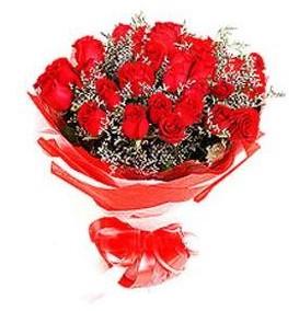 Hakkari çiçek servisi , çiçekçi adresleri  12 adet kırmızı güllerden görsel buket