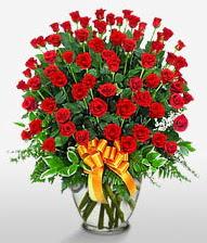 Görsel vazo içerisinde 101 adet gül  Hakkari online çiçek gönderme sipariş