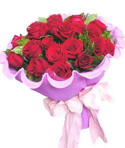 12 adet kırmızı gülden görsel buket  Hakkari hediye çiçek yolla