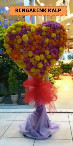 Ankara mevsim çiçeklerinden kalp perförje  Hakkari çiçek gönderme