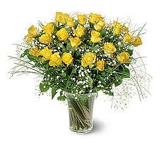 Hakkari çiçekçi mağazası  15 adet sarigül mika yada cam vazoda