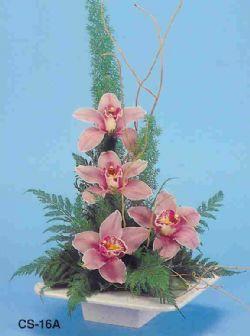 Hakkari çiçek gönderme  vazoda 4 adet orkide