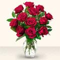Hakkari çiçek gönderme sitemiz güvenlidir  10 adet gül cam yada mika vazo da