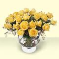 Hakkari çiçek gönderme  11 adet sari gül cam yada mika vazo içinde