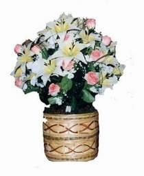 yapay karisik çiçek sepeti   Hakkari çiçek online çiçek siparişi