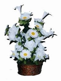 yapay karisik çiçek sepeti  Hakkari internetten çiçek siparişi