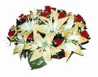yapay karisik çiçek sepeti   Hakkari çiçekçiler