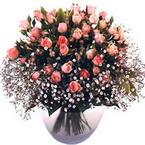 büyük cam fanusta güller   Hakkari çiçek gönderme sitemiz güvenlidir