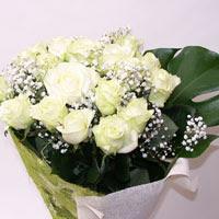 Hakkari ucuz çiçek gönder  11 adet sade beyaz gül buketi