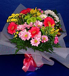 karisik sade mevsim demetligi   Hakkari uluslararası çiçek gönderme