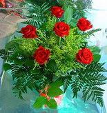 6 adet kirmizi gül buketi   Hakkari çiçek siparişi vermek