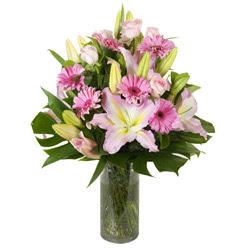 vazo içerisinde karisik mevsim çiçekleri  Hakkari çiçekçiler
