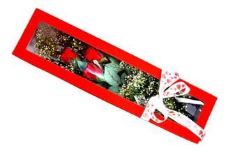Hakkari ucuz çiçek gönder  Kutuda 3 adet gül