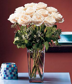 Hakkari anneler günü çiçek yolla  Cam yada mika vazo içerisinde 12 gül
