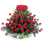 Hakkari çiçek mağazası , çiçekçi adresleri  41 adet kirmizi gülden sepet tanzimi