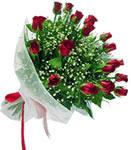 Hakkari çiçek siparişi sitesi  11 adet kirmizi gül buketi sade ve hos sevenler