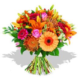 Hakkari çiçek gönderme  Karisik kir çiçeklerinden görsel demet