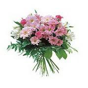 karisik kir çiçek demeti  Hakkari çiçekçi telefonları