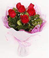 9 adet kaliteli görsel kirmizi gül  Hakkari çiçek yolla