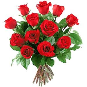 11 adet bakara kirmizi gül buketi  Hakkari kaliteli taze ve ucuz çiçekler