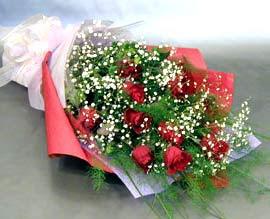 10 adet kirmizi gül çiçegi gönder  Hakkari 14 şubat sevgililer günü çiçek