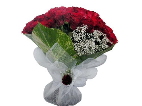 25 adet kirmizi gül görsel çiçek modeli  Hakkari çiçek online çiçek siparişi