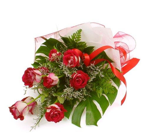 çiçek gönder 7 adet kirmizi gül buketi  Hakkari çiçek mağazası , çiçekçi adresleri