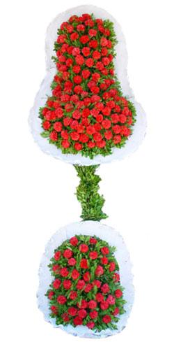 Dügün nikah açilis çiçekleri sepet modeli  Hakkari online çiçek gönderme sipariş