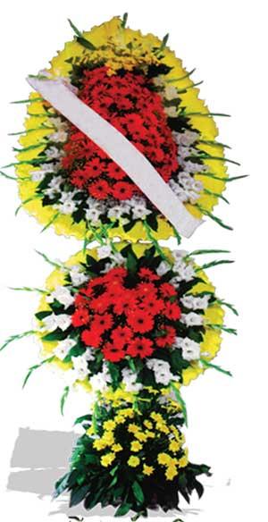 Dügün nikah açilis çiçekleri sepet modeli  Hakkari çiçek gönderme sitemiz güvenlidir