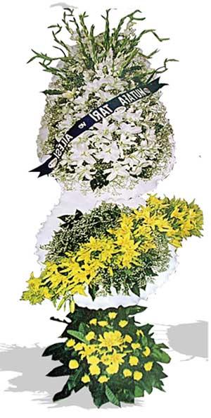 Dügün nikah açilis çiçekleri sepet modeli  Hakkari çiçek satışı