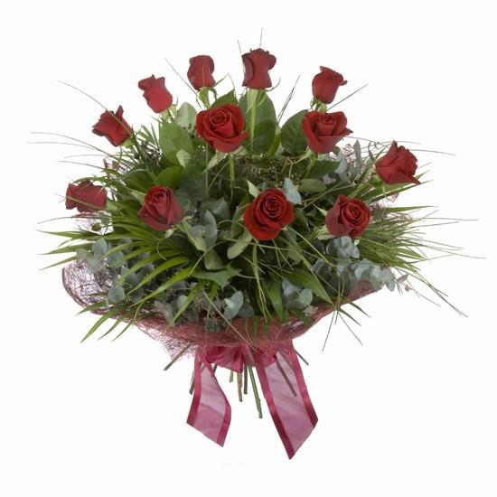 Etkileyici buket 11 adet kirmizi gül buketi  Hakkari çiçek siparişi sitesi