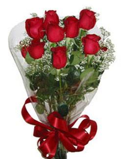 Çiçek sade gül buketi 7 güllü buket  Hakkari çiçek siparişi vermek