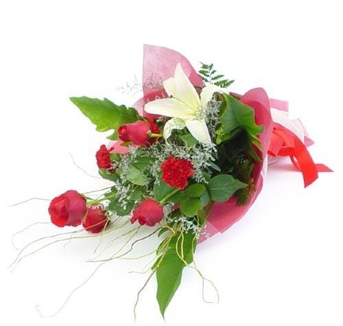 Mevsim çiçeklerinden karisik buket  Hakkari online çiçek gönderme sipariş