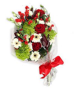 Karisik mevsim buketi çiçek tanzimi  Hakkari çiçekçiler