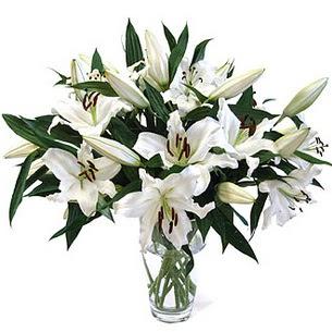 Hakkari çiçek gönderme  3 dal görsel casablanca vazo tanzimi