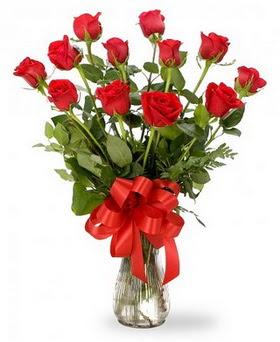 Hakkari çiçek satışı  12 adet kırmızı güllerden vazo tanzimi