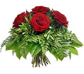 Hakkari çiçek servisi , çiçekçi adresleri  5 adet kırmızı gülden buket
