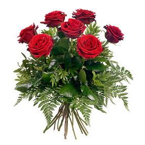 Hakkari çiçek siparişi vermek  7 adet kırmızı gülden buket