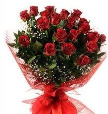 İlginç Hediye 21 Adet kırmızı gül  Hakkari çiçekçiler