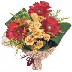 karışık mevsim buketi  Hakkari hediye çiçek yolla