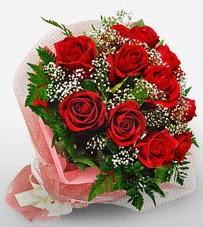12 adet kırmızı güllerden kaliteli gül  Hakkari internetten çiçek siparişi