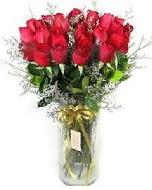 27 adet vazo içerisinde kırmızı gül  Hakkari çiçek yolla , çiçek gönder , çiçekçi