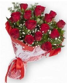11 kırmızı gülden buket  Hakkari kaliteli taze ve ucuz çiçekler