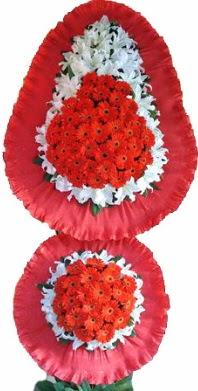 Hakkari çiçek siparişi vermek  Çift katlı kaliteli düğün açılış sepeti