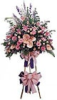 Hakkari kaliteli taze ve ucuz çiçekler   Ferforje Pembe kazablanka