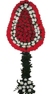 Çift katlı düğün nikah açılış çiçek modeli  Hakkari hediye çiçek yolla