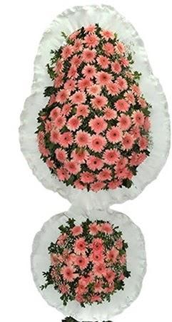 Çift katlı düğün nikah açılış çiçek modeli  Hakkari çiçek siparişi vermek