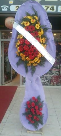 Çift katlı nikah düğüne çiçek modeli  Hakkari çiçekçiler