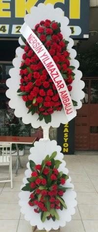 Çift katlı düğün nikah çiçeği modeli  Hakkari ucuz çiçek gönder