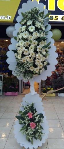 Çift katlı düğün nikah açılış çiçeği  Hakkari çiçek gönderme